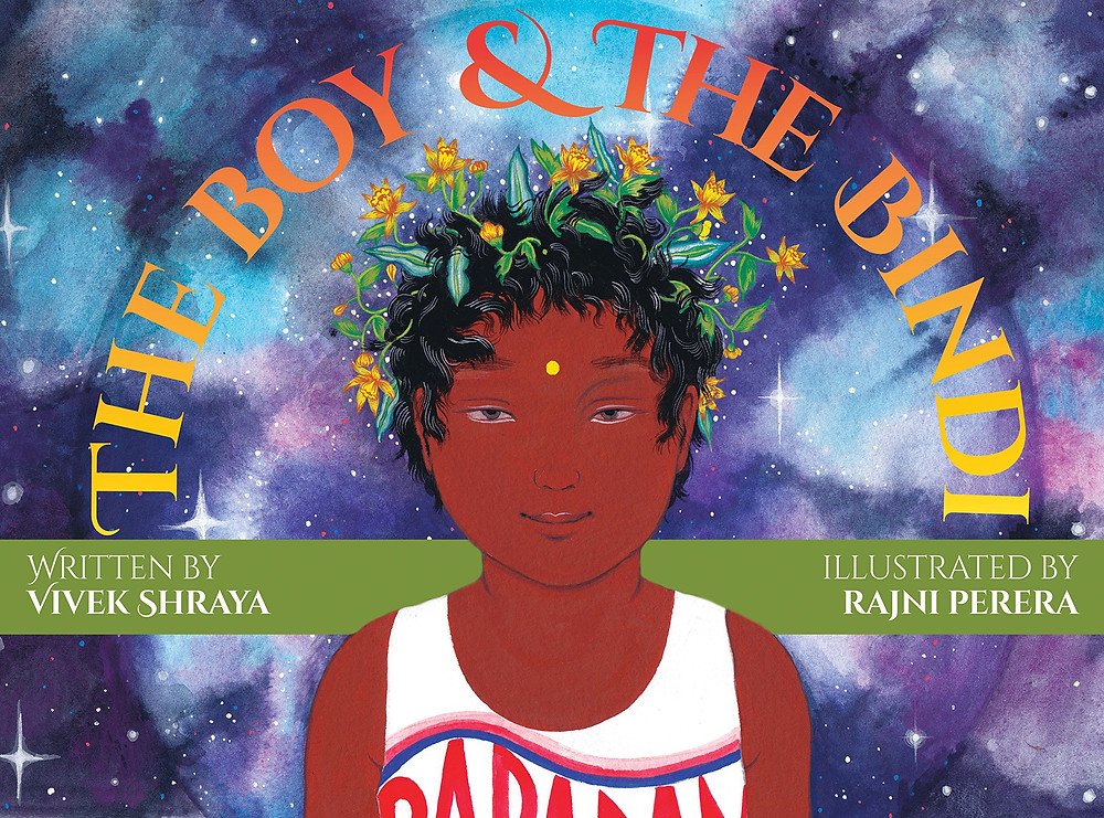 Photograph of the children's book The Boy & The Bindi