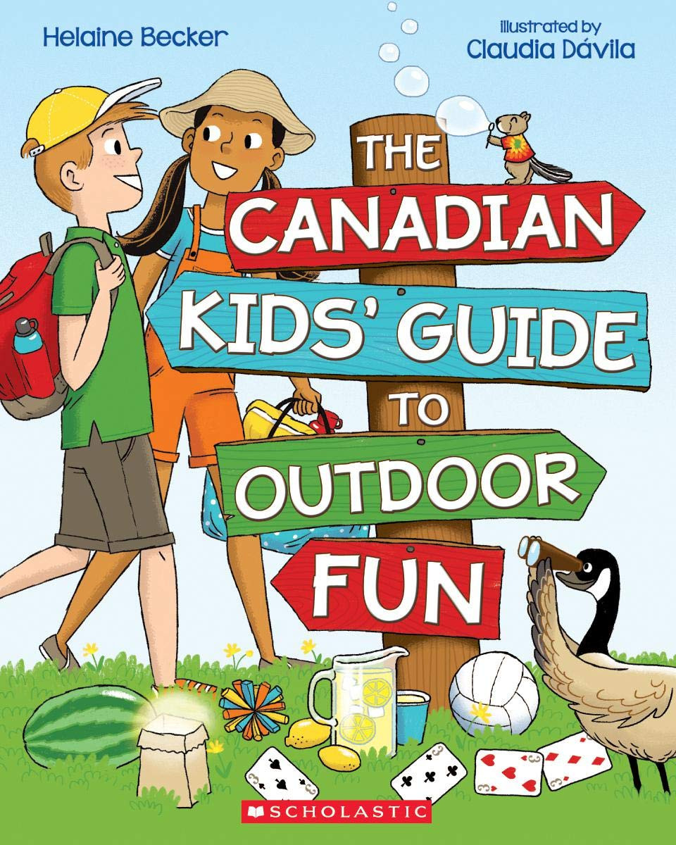 Cover of The Canadians Kids' Guide to Outdoor Fun