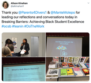 Thank you @Parents4Divers1 & @ManteMolepo for leading our reflections and conversations today in Breaking Barriers: Achieving Black Student Excellence #ocsb #leanin #DoTheWork