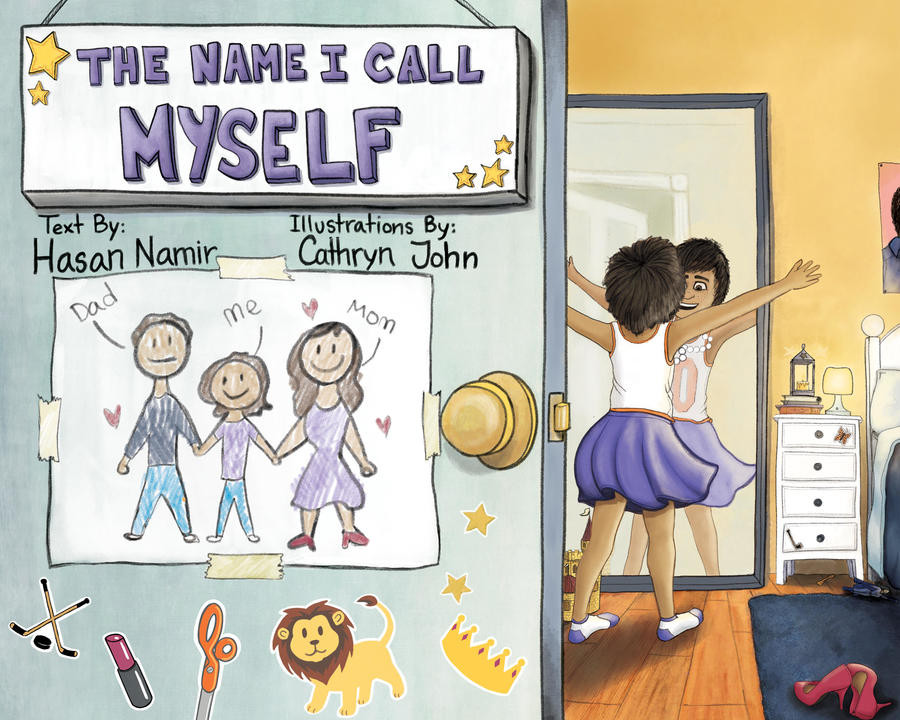 Photograph of the children's book The Name I Call Myself