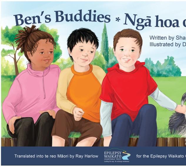Epilepsy - Ben's Buddies - Nga hoa o ben