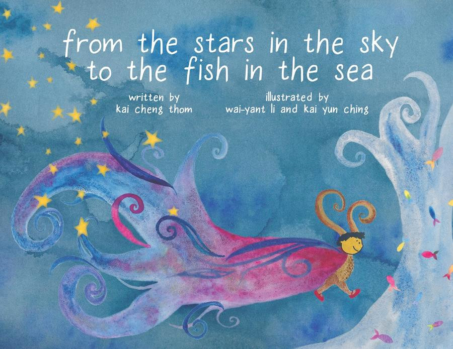 Photograph of the children's book from the stars in the sky to the fish in the sea