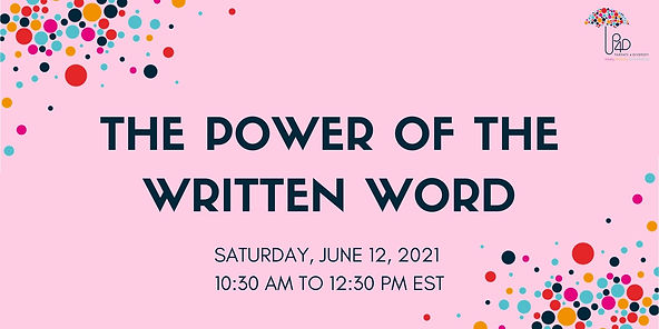 EB The Power of the Written Word 2021 (1