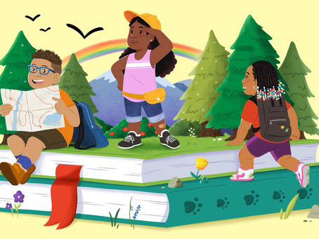 Let's Go Adventure Outdoors (With Books!)