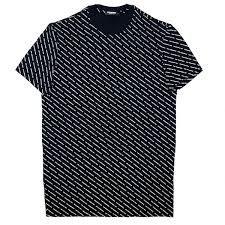 DSQUARED2 T-shirt manica corta logata all over