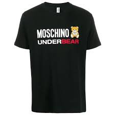 MOSCHINO T-Shirt manica corta con logo