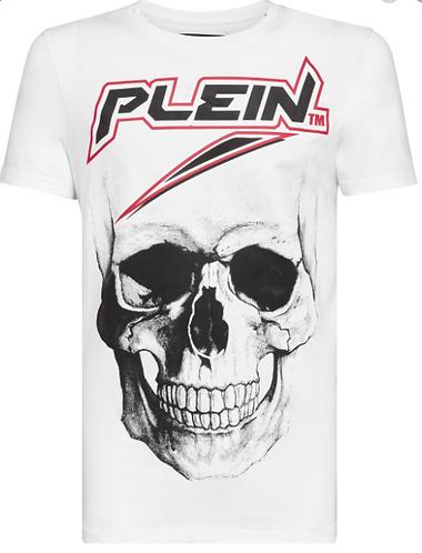 PHILIPP PLEIN T-Shirt con maxi stampa gommata Space