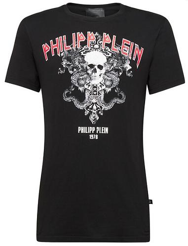 PHILIPP PLEIN T-Shirt manica corta Just Dance