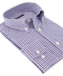PAUL & SHARK Camicia botton down quadro vichy