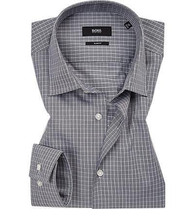 BOSS Camicia in cotone micro check