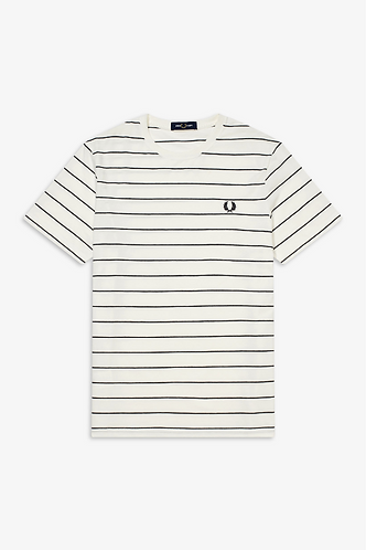 FRED PERRY T-Shirt a righine