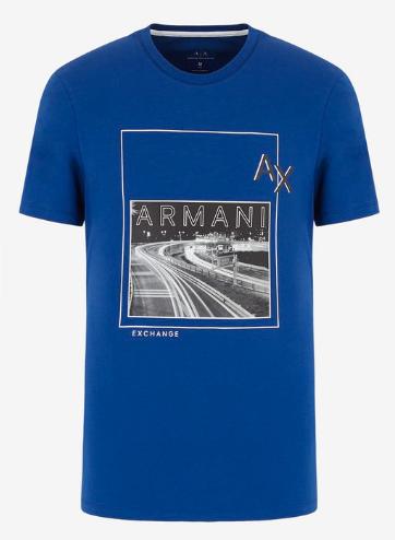 ARMANI EXCHANGE T-Shirt logata