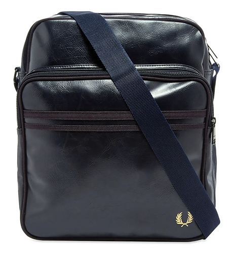 FRED PERRY Tracolla in PU con tasca