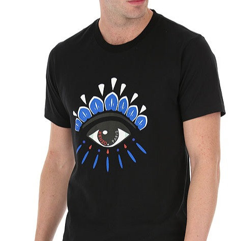 KENZO T-Shirt manica corta con occhio
