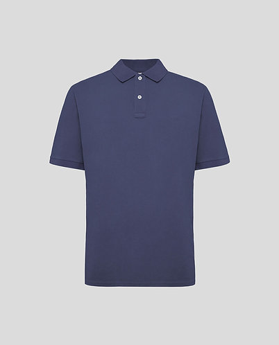 WOOLRICH Polo manica corta stone washed