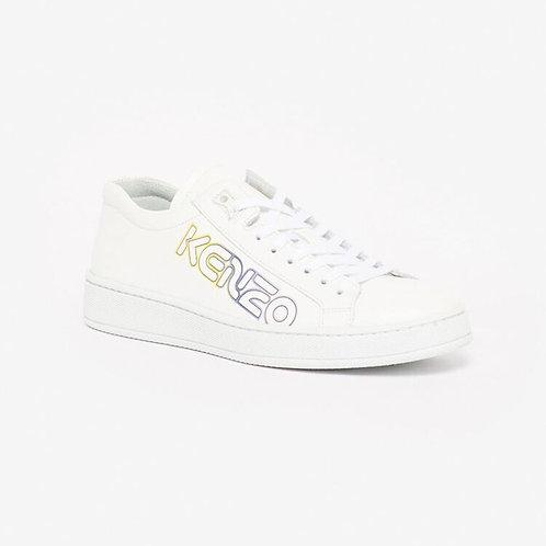 KENZO Sneakers allacciata con logo colorato