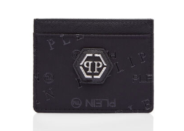 PHILIPP PLEIN Portacarte con logo all over