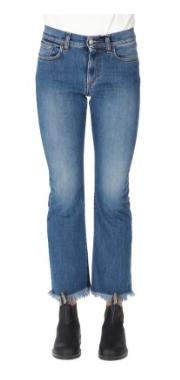 ROY ROGER'S Jeans bootcut elasticizzato lavaggio medio