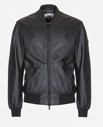PEUTEREY Bomber in pelle nappata