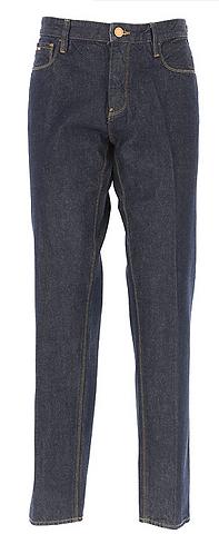 EMPORIO ARMANI Jeans scuro con bottoni