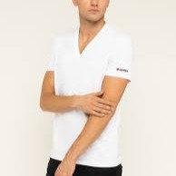 DSQUARED2 T-shirt scollo a V manica corta