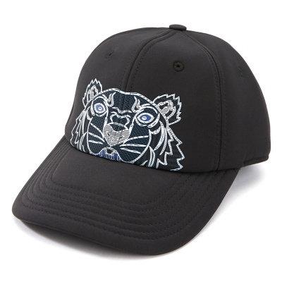 KENZO Cappello con tigre stampata