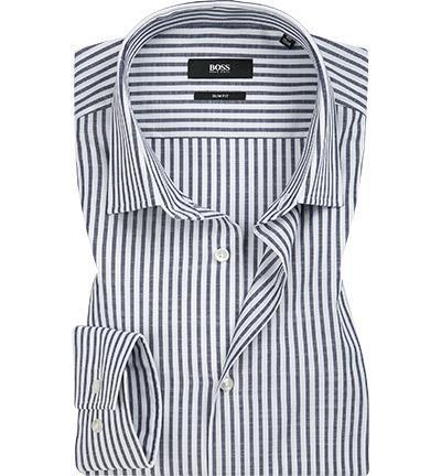 BOSS Camicia bastone blu