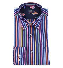 PAUL & SHARK Camicia bastone colorate