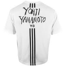 ADIDAS Y-3 T-shirt stampata