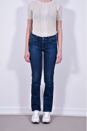 ROY ROGER'S Jeans stretch dritto lavaggio medio
