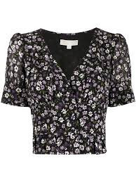 MICHAEL KORS Top floreale
