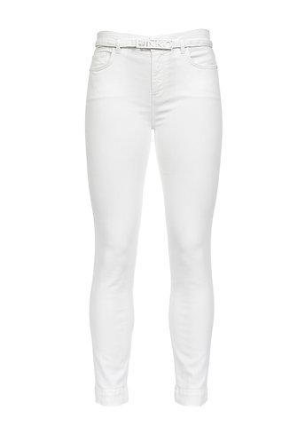 PINKO Jeans skinny cropped in bull