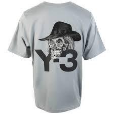 ADIDAS Y-3 T-shirt ricamata