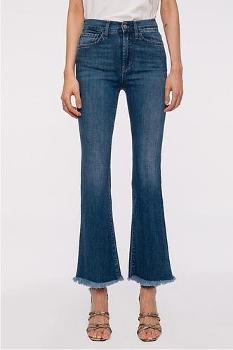 ROY ROGER'S Jeans elasticizzato taglio bootcut corto