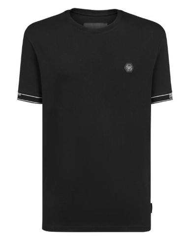 PHILIPP PLEIN T-Shirt manica corta logo manica