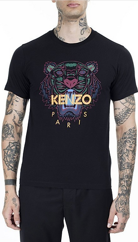 KENZO T-Shirt Icon tigre manica corta