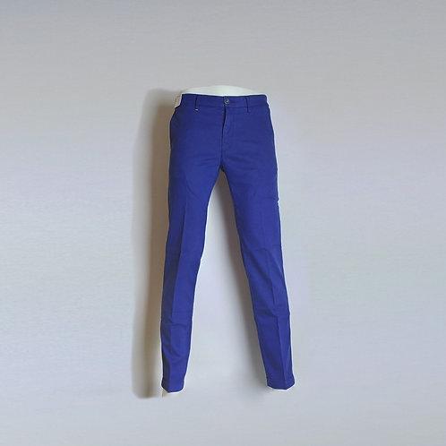 RE-HASH Pantalone chinos elasticizzato