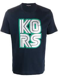 MICHAEL KORS T-shirt manica corta con stampa davanti