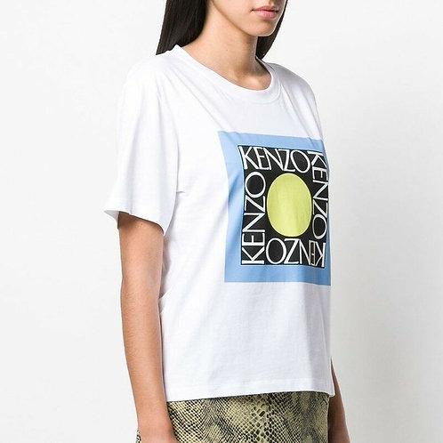 KENZO T-shirt stampa quadrata