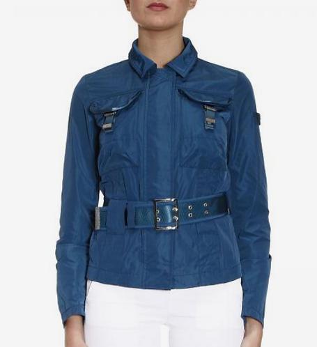 PEUTEREY Field Jacket in nylon con cintura