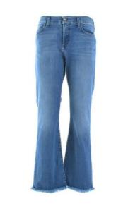 ROY ROGER'S Jeans a zampa lavaggio chiaro