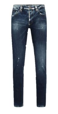 PHILIPP PLEIN Jeans Super Straight Cut Gothic