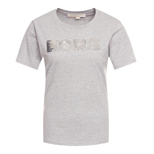 MICHAEL KORS T-Shirt manica corta logo paillettes