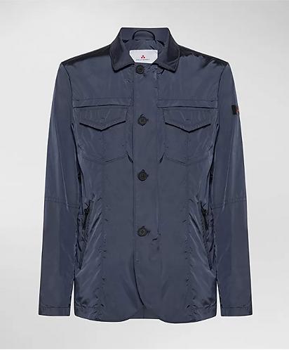 PEUTEREY Field Jacket in nylon effetto cangiante