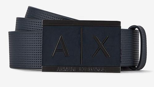 ARMANI EXCHANGE Cintura in pelle fibbia logata