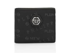 PHILIPP PLEIN Portafogli con logo all over