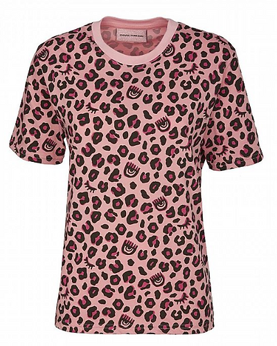 CHIARA FERRAGNI T-Shirt manica corta Leopard