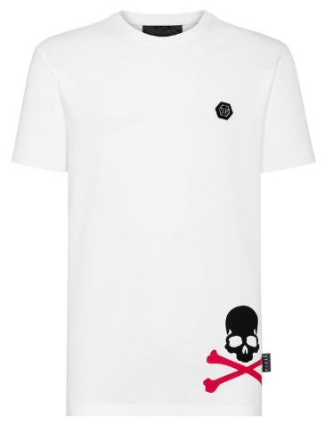 PHILIPP PLEIN T-Shirt manica corta SS Skull