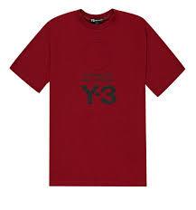 ADIDAS Y-3 T-shirt manica corta con logo stapato