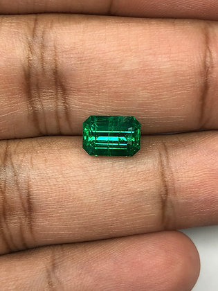 Zambian Emerald Octagon 2.48 Carats